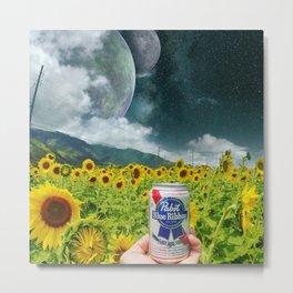 Beer of the Universe Metal Print