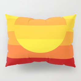 Sunset Stripe Pillow Sham