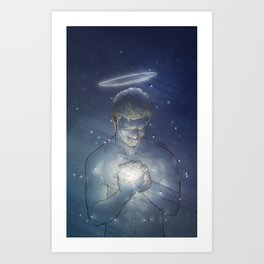 [ Supernatural ] God Chuck Shurley Rob Benedict Art Print