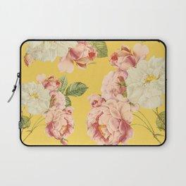 Flora temptation - sunny mustard Laptop Sleeve