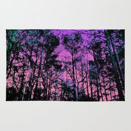 Forest (Sunset) Rug