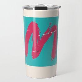 Aya in Turquoise Travel Mug