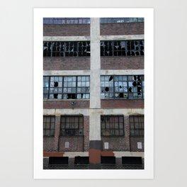 Broken Industry Art Print