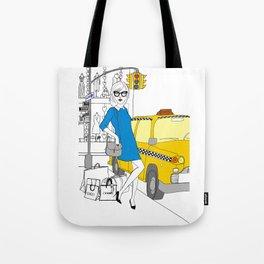 Taxi, please! Tote Bag