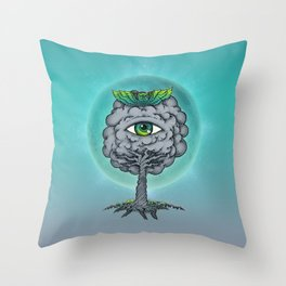 The Trees are Watching! Throw Pillow