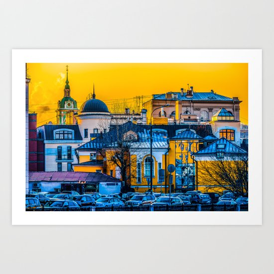Urban Mix Art Print