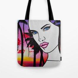 Brazilian Kiss Tote Bag