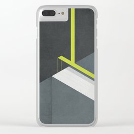 Off The Deep End Clear iPhone Case