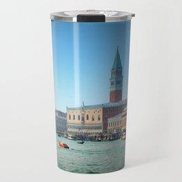 Approaching St Marks Square, Venice, Italy Travel Mug