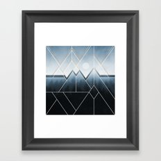 Fading North Framed Art Print