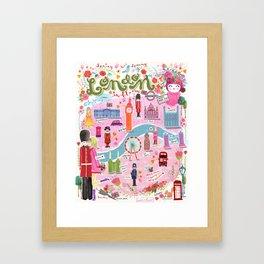 London in Bloom Framed Art Print