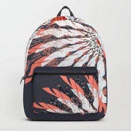 Vector Flower 112 Graphic Art Print Backpack