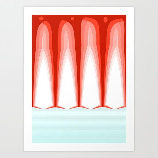 Hot Sun Mop. Art Print