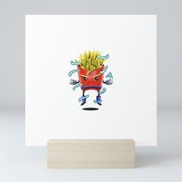 Saiyan Fries Mini Art Print