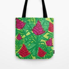 Tropical dreams green Tote Bag