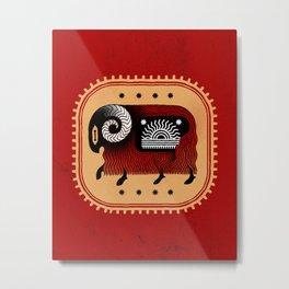 CARNEIRO ARIES Metal Print