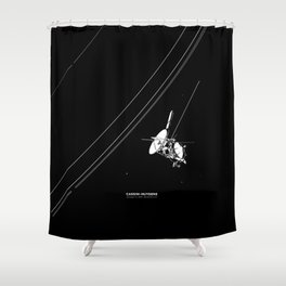CASSINI-HUYGENS Shower Curtain