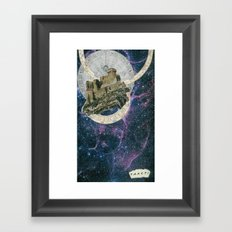 My Home at the End of the Universe Framed Art Print
