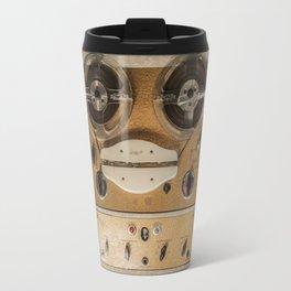 Vintage tape sound recorder reel to reel Travel Mug