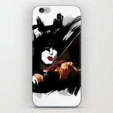 Paganini devil violinist  iPhone & iPod Skin