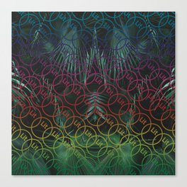 Lit Patterned Canvas Print