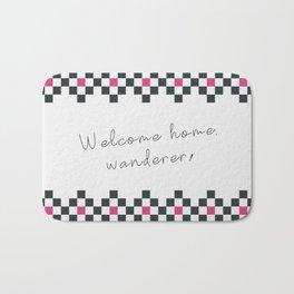 Welcome home Bath Mat