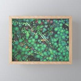 Emerald Cosmos Framed Mini Art Print