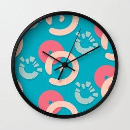 funny circles Wall Clock