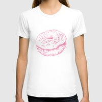doughnut T-shirts featuring Doughnut by Katy V. Meehan