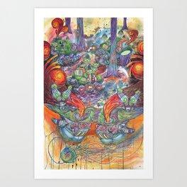 Machines Art Print