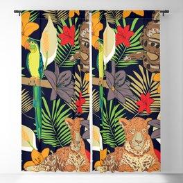 Jungle animals of Amazonia Blackout Curtain