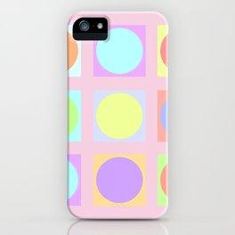 Pastel Dots iPhone Case