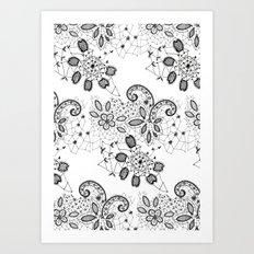 Lace 3 Art Print