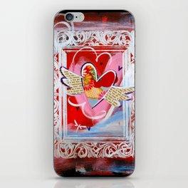 Shiny Happy Heart iPhone Skin