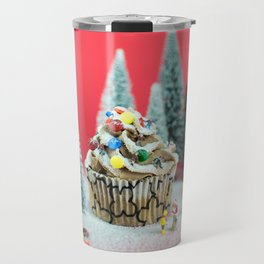 Christmas cupcake Travel Mug