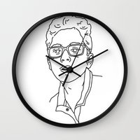 allyson johnson Wall Clocks featuring Alex Johnson by Alex Johnson