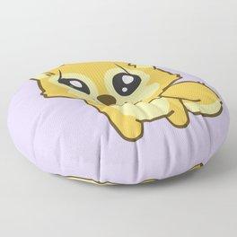 Kawaii Hachikō, the legendary dog Floor Pillow