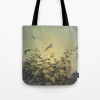freedom Tote Bags featuring Freedom by Victoria Herrera
