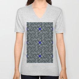 Making Waves Gray Unisex V-Neck