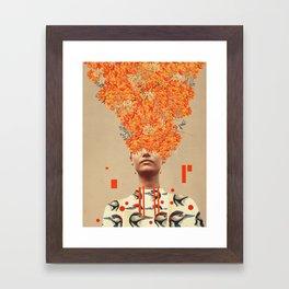 Bird Flight in Autumn Framed Art Print