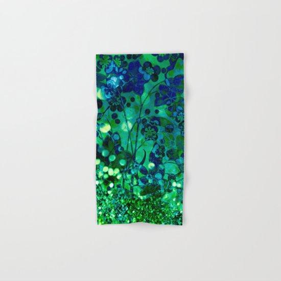 Bokeh floral Hand & Bath Towel