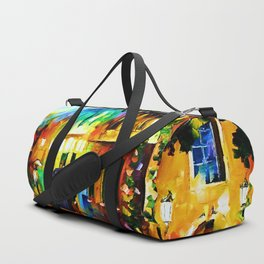 Tardis Art And The Light Street Duffle Bag