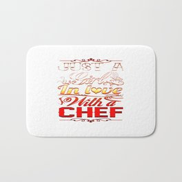 In love with a Chef Bath Mat