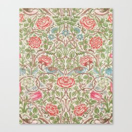 William Morris - Roses - Digital Remastered Edition Canvas Print