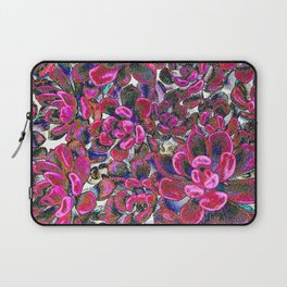 Floral tribute [red velvet] Laptop Sleeve
