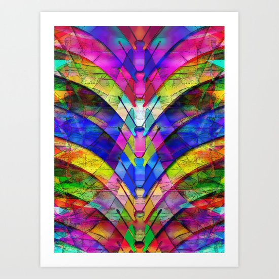 The Butterfly Collector's Dream Art Print