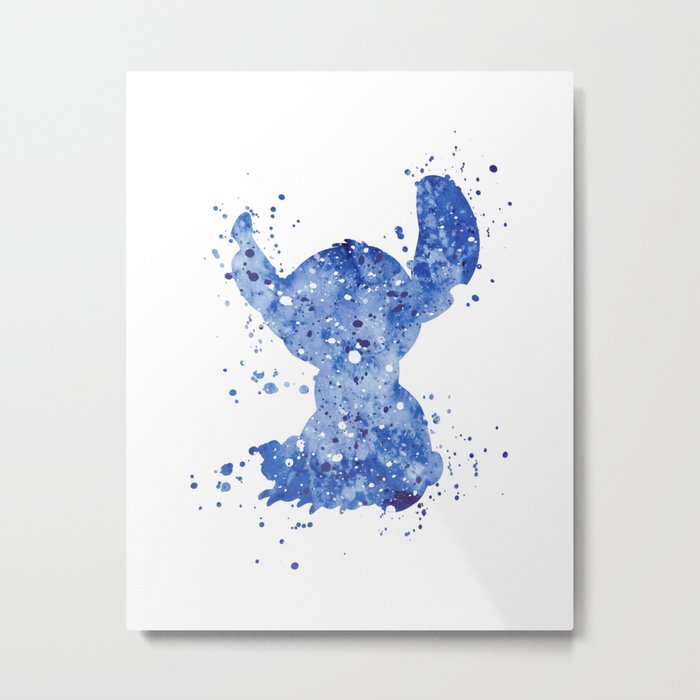Stitch Disneys Metal Print