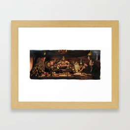Conan the Barbarian - Crush Your Enemies Framed Art Print