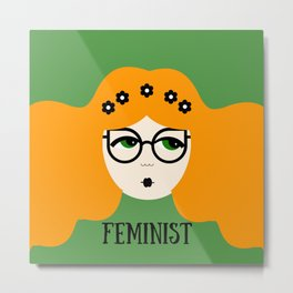 Feminist Gerry Metal Print