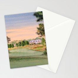 Hamilton Farm Golf Club Highlands Course 18th hole Stationery Cards
